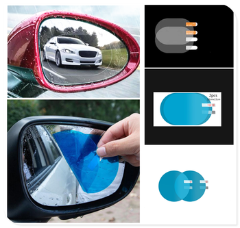 2PCS Car SUV Rearview Mirror Protective Film Rainproof Sticker for BMW E88 1M F20 F21 F15 X5M E71 X6 X6M E46 E90 E91 E92 image