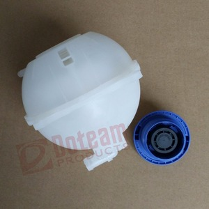 Image 4 - Ccoolant Expansion Tank + Cap For VW GOLF MK2 MK3 CADDY JETTA PASSAT POLO Saloon 1H0121407A 357121407A