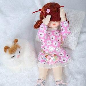 Image 3 - OUENEIFS Hebbe BJD YOSD bebek 1/6 vücut modeli bebek kız erkek yüksek kaliteli oyuncaklar dükkanı reçine noel hediyesi yeni yıl hediye