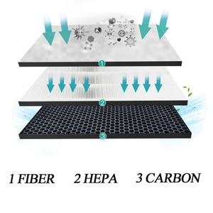 Image 5 - فلتر Hepa لمرشح الكربون amway H13 PM2.5 HEPA 101076CH أو 10 1076 TH لتنقية الهواء فلتر الكربون التعقيم لتنقية الهواء