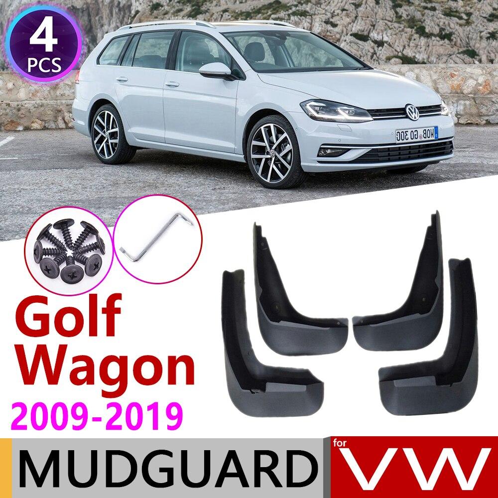 Брызговик для универсала VW Golf 6 7 MK6 MK7, 2009 ~ 2019, брызговик, брызговики, аксессуары 2010, 2015, 2018