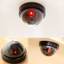 The Best Simulated Security Camera Fake Dome Dummy with Flash LED Light 889