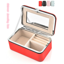 Portable Jewelry Box Travel Essential Ring Earrings Necklace Handmade Multi-function Storage