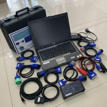 Heavy Duty Truck Diagnostic Repair Scanner & tool DPA5 Dearborn Protocol Adapter USB connect with Laptop d630 4G Free DHL/EMS