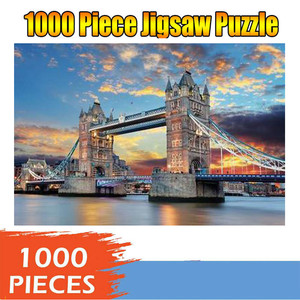 kids Jigsaw Puzzles 1000 Piece Large Puzzle Game Interesting Toys Personalized Gift For Children Adults Educational Toys(China)