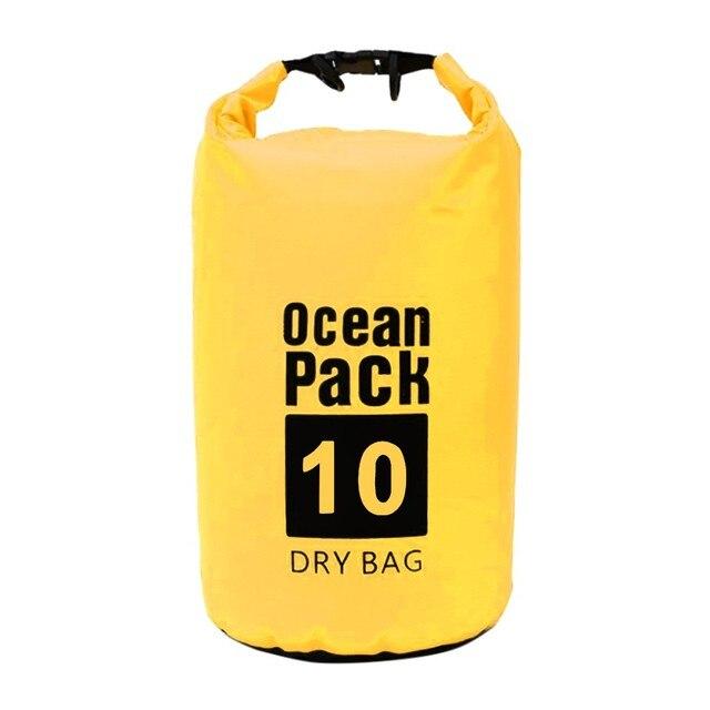 Dry Bag Sack for Canoe Floating Boating Kayaking Camping PVC Waterproof Backpack