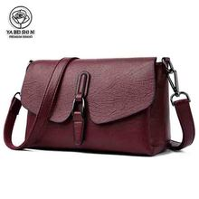 цены Women crossbody bags for women Luxury Shoulder Bag flap Cattle leather bag High Quality female Messenger Bag Sac a main Handbags