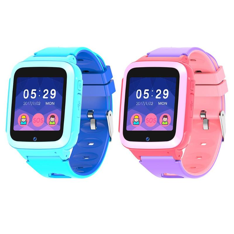Waterproof Kids Smart Watch SOS Antil-lost Smartwatch Baby IP Card Clock Call Location Tracker Smartwatch PK
