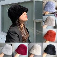 Женская меховая защита от холода и теплая Рыбацкая шапка плюшевая