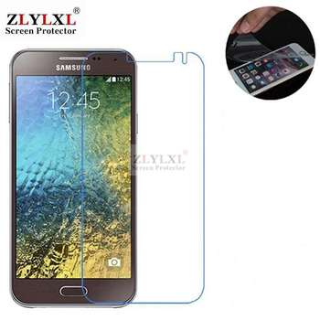 5 pcs alot soft Scratch Proof HD film screen protector for samsung E5 e5000 image