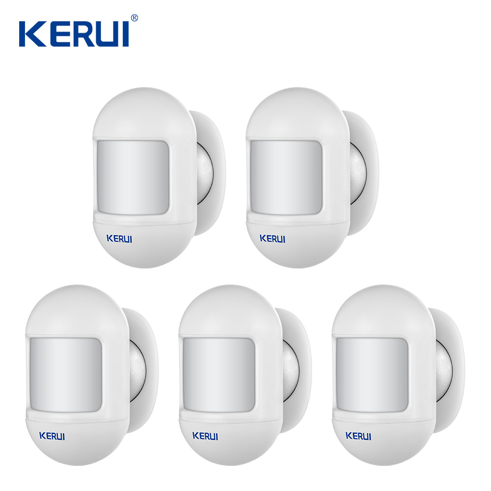 KERUI P831 Wireless Mini Automatic  Movable Angle Home Security PIR Infrared Motion Detector Compatible With KERUI Alarm System