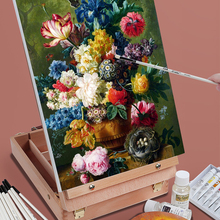 Wooden Easel Painting Laptop-Accessories Drawing-Table-Box Art-Supplies Artist for Sketch