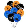18 шт./лот с днем рождения воздушные шары аниме латексные воздушные шары для мальчиков, подарки на день рождения вечерние Декор Детские возду...