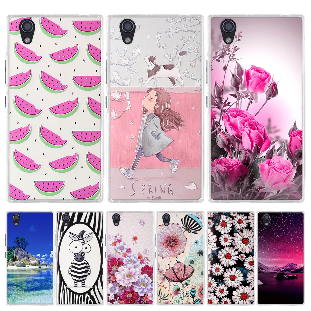 <font><b>Cover</b></font> For <font><b>Lenovo</b></font> <font><b>P70</b></font> P70T <font><b>Case</b></font> Soft TPU Silicone Floral Pattern Funda For <font><b>Lenovo</b></font> <font><b>P70</b></font> P70A <font><b>p70</b></font>-a P70t <font><b>p70</b></font>-t 5.0 inch Phone Coque image