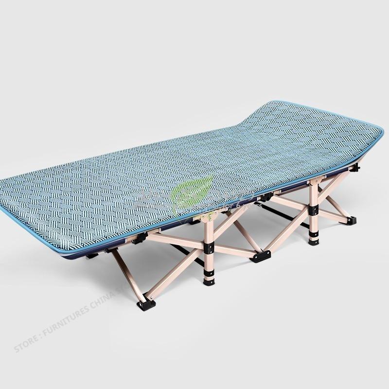 38%, 75 см, складная кровать, одиночная, для дома, для взрослых, полдень отдыха, Сиеста, шезлонг, офисный, простой и легкий, более функциональный, ... - 6