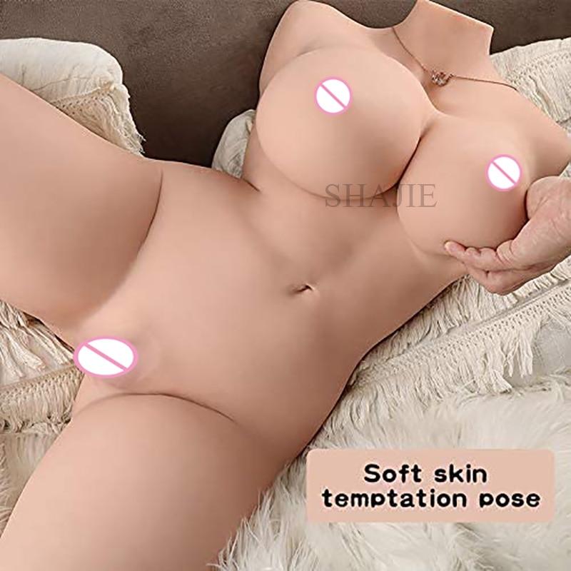Realista busto silicone sexo boneca realista vagina artificial gato real grande peito tpe amor boneca masturbação masculino brinquedo do sexo