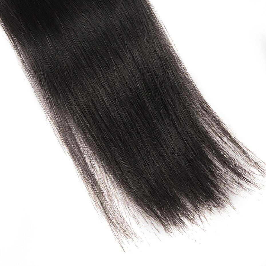 Mecha de cabelo virgem