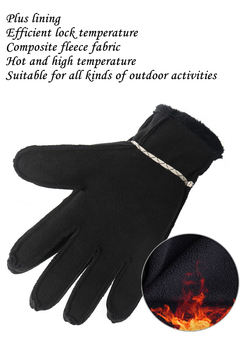 CUHAKCI Waterproof and Windproof Touch Screen Gloves for Men and Women Suitable for Operating All Touch Screen Devices during Winter 20