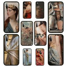Renaissance art Painting Phone Case For Samsung S Note20 10 2020 S5 21 30 ultra plus A81 Cover Fundas Coque