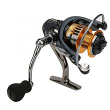 5,0: 1 Рыболовная катушка левая/правая сменная металлическая спиннинговая Рыболовная катушка колесная приманка литье колеса рыболовные снасти аксессуары