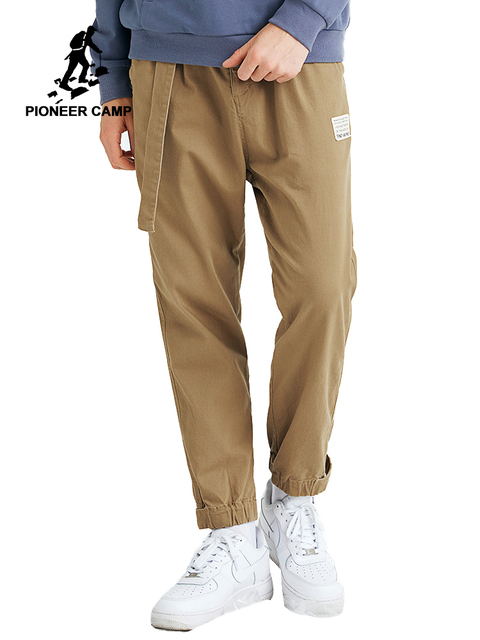 بايونير كامب الرجال السراويل البضائع التكتيكية حزام غير رسمي مستقيم العسكرية Sweatpants الكاكي الذكور بنطلون AXX903526T