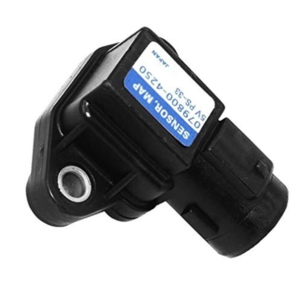 Sensor de pressão 37830p05a01 0798004250 37830paas00 do coletor da entrada de ar apto para honda civic 1997-2005 v6 3.0