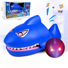 Funny Novelty Shark Mouth Tooth Electric Bite Finger Game Funny Novelty Gag Toy Family Prank Play Game Kids Gifts Christmas Gift