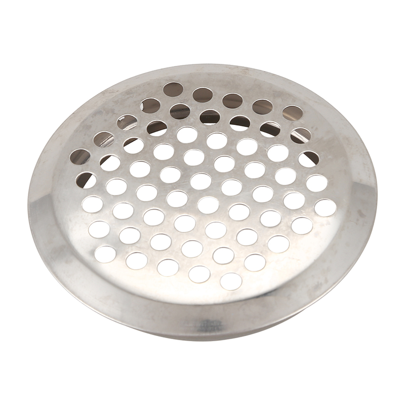 Big Deal 6 Pcs Stainless Steel Perforated Round Mesh Air Vents Louvers 53mm