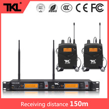 TKL ER-2040 dual-channel professional stereo in-ear monitoring UHF stage digital wireless monitoring system(China)