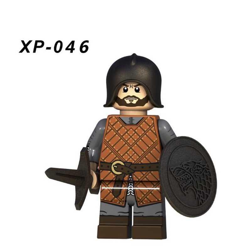 ゲームの魂フィギュア氷と火ジョン雪アリヤスターク Petyr Baelish ハイメ氷騎士 Benjen ビルディングブロックのおもちゃ子供のための