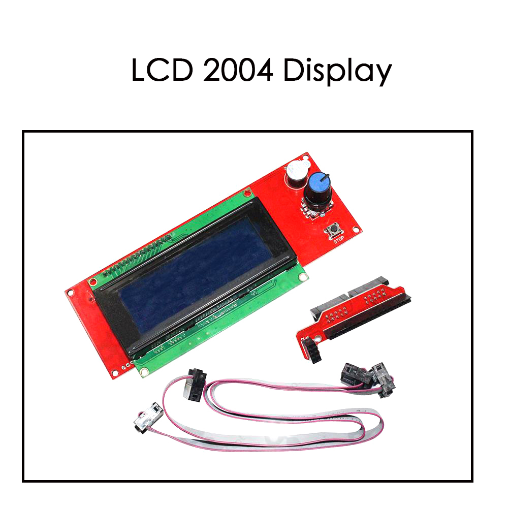 3D printer lcds display screen original LCD 2004  Ramps 1 4 LCD panel LCD2004 good compatibility durability stability