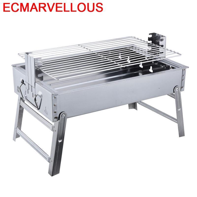Grelha Para coréen Barbecue Griller en plein air Mini Griglia Barbecue Barbacoa