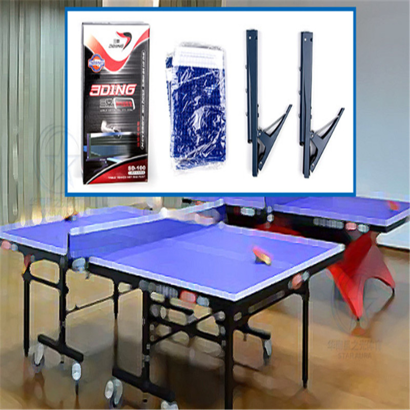 Ping Pong Professional Standard Table Tennis Net Set Table Net Rack Kit Table Tennis Accessories