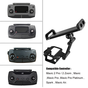 Image 3 - DJI Remote Control Holder Bracket Phone Tablet Front Bracket Holder for DJI Mavic 2 Pro DJI Mavic Air Spark Mount Clip for Pad