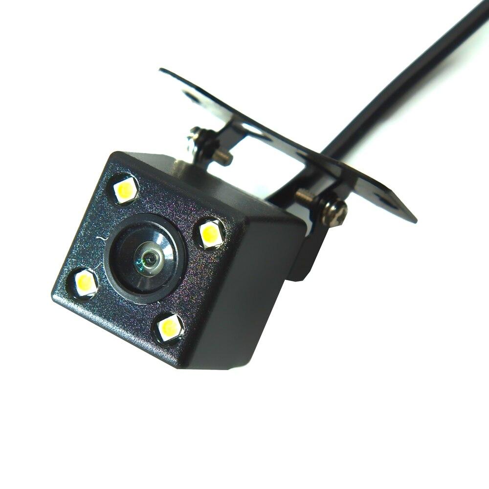 BYNCG Автомобильная камера заднего вида, 4 светодиодный, ночное видение, Реверсивный, Авто парковочный монитор, CCD, водонепроницаемая, 170 градусов, HD видео - Название цвета: 103 no 6M