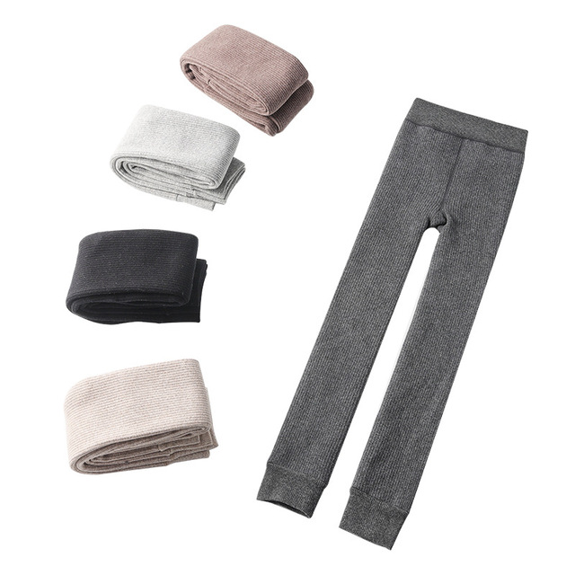 Winter Fleecy Textured Leggings 10