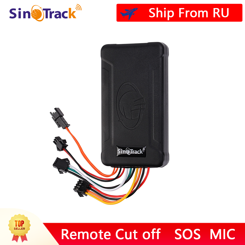 Sinotrack Vehicle-Tracking-Device Motorcycle ST-906 Power--Online Software GSM for Car