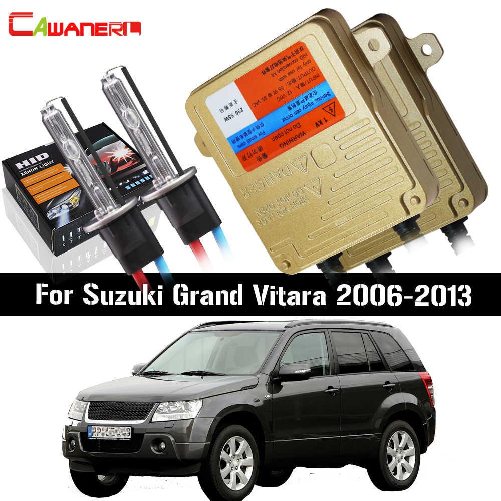 Cawanerl 55W H7 światła samochodowe reflektor martwa wiązka żarówka canbus statecznik lampy zestaw hid xenon AC dla Suzuki grand vitara 2006-2013