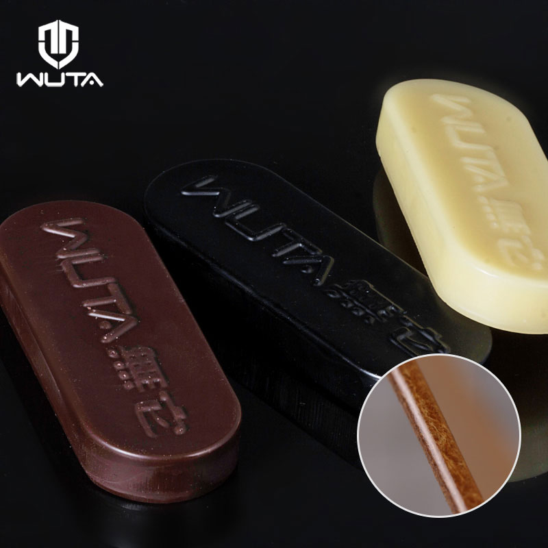 WUTA 1pcs Professinal Leather Craft Edge Polishing Wax Firm Mill Edge Wax DIY Handmade Processing Grinding Tool 3Color Available