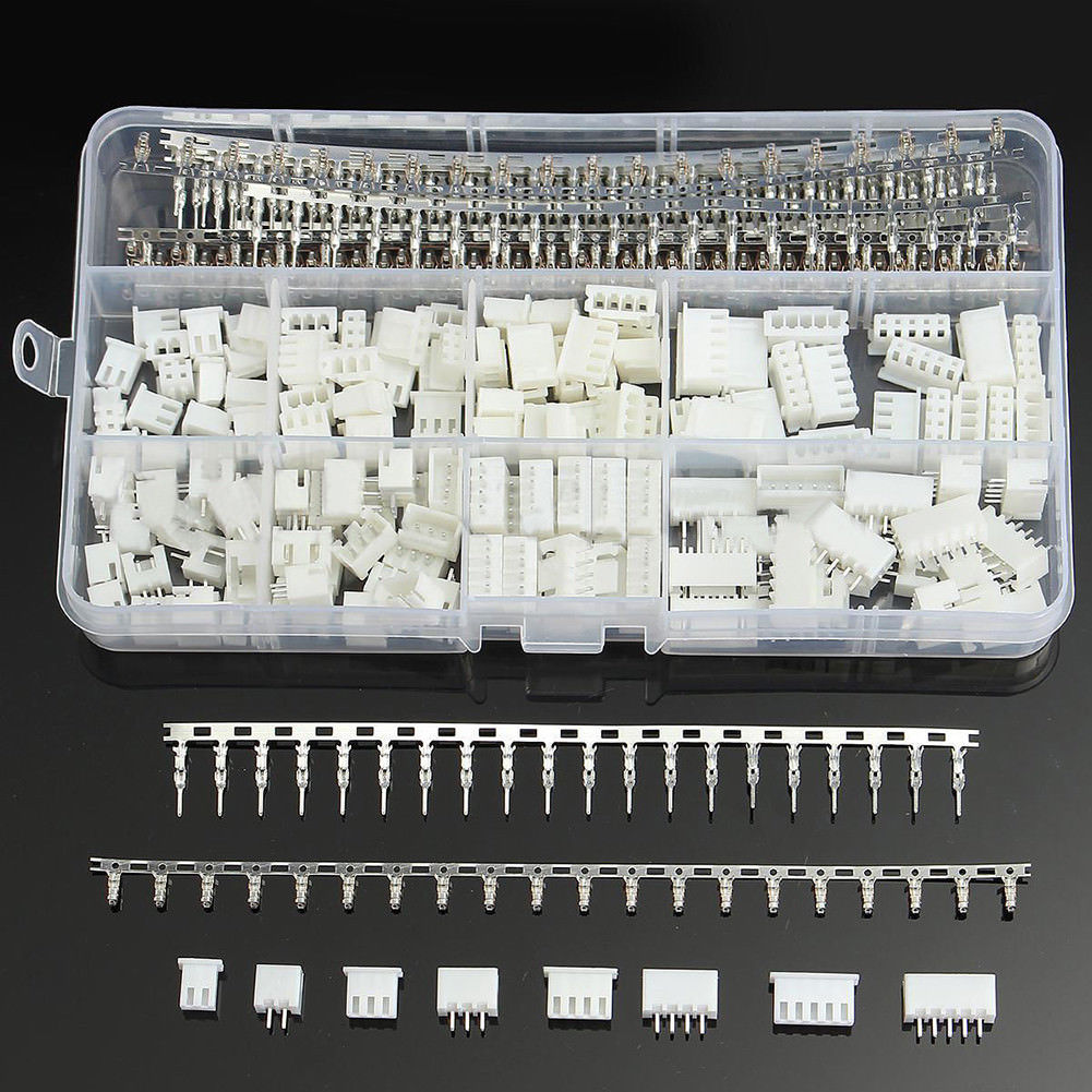 560Pcs Dupont Connector Jumper Wire Cable Pin Header Pin Housing and Male / Female Pin Head Terminal Adapter Plug Set Kit