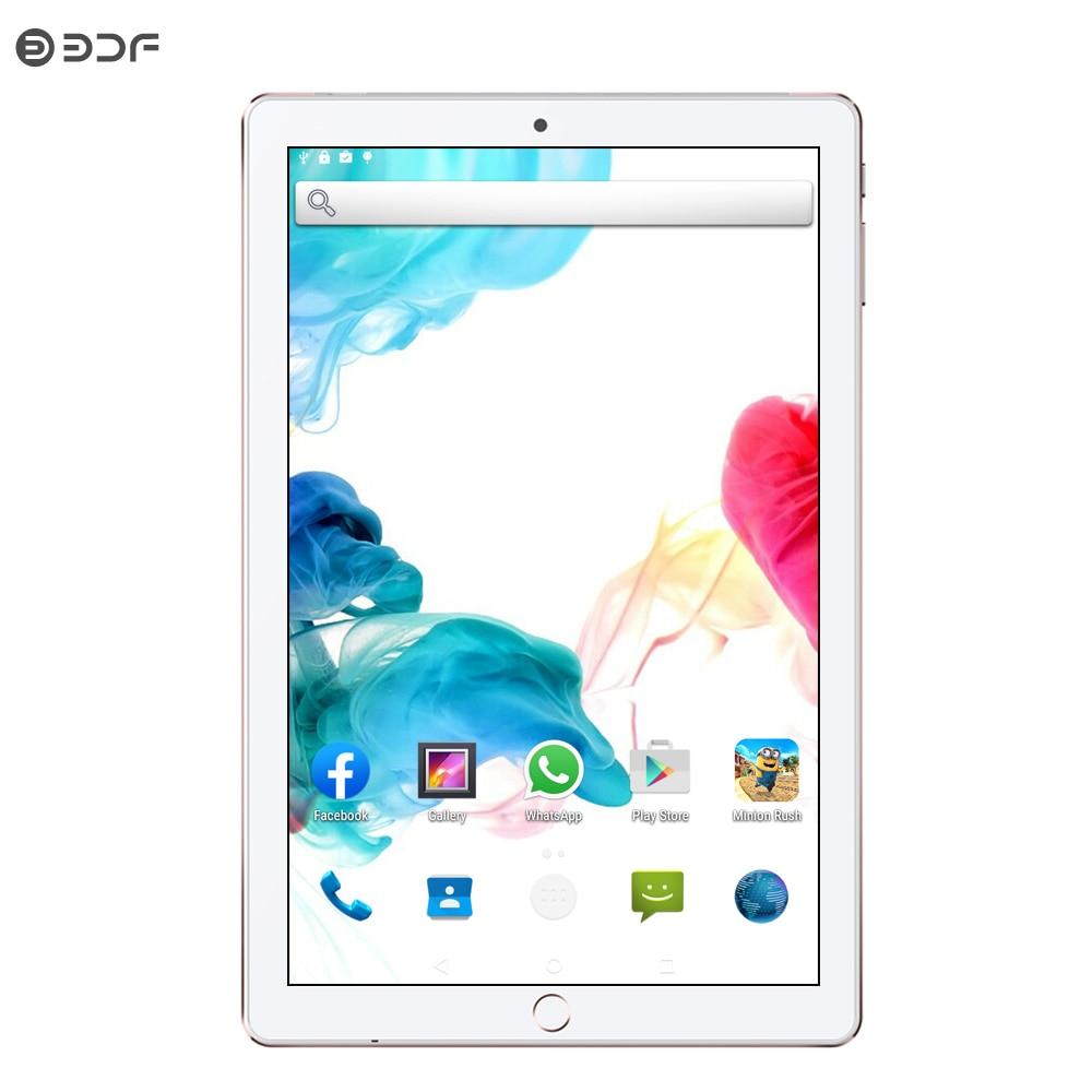BDF 10 Inch Android 7.0 Quad Core 1GB RAM 32GB ROM Dual SIM Network Phablet 1280*800 IPS LCD Bluetooth WIFI Tablet