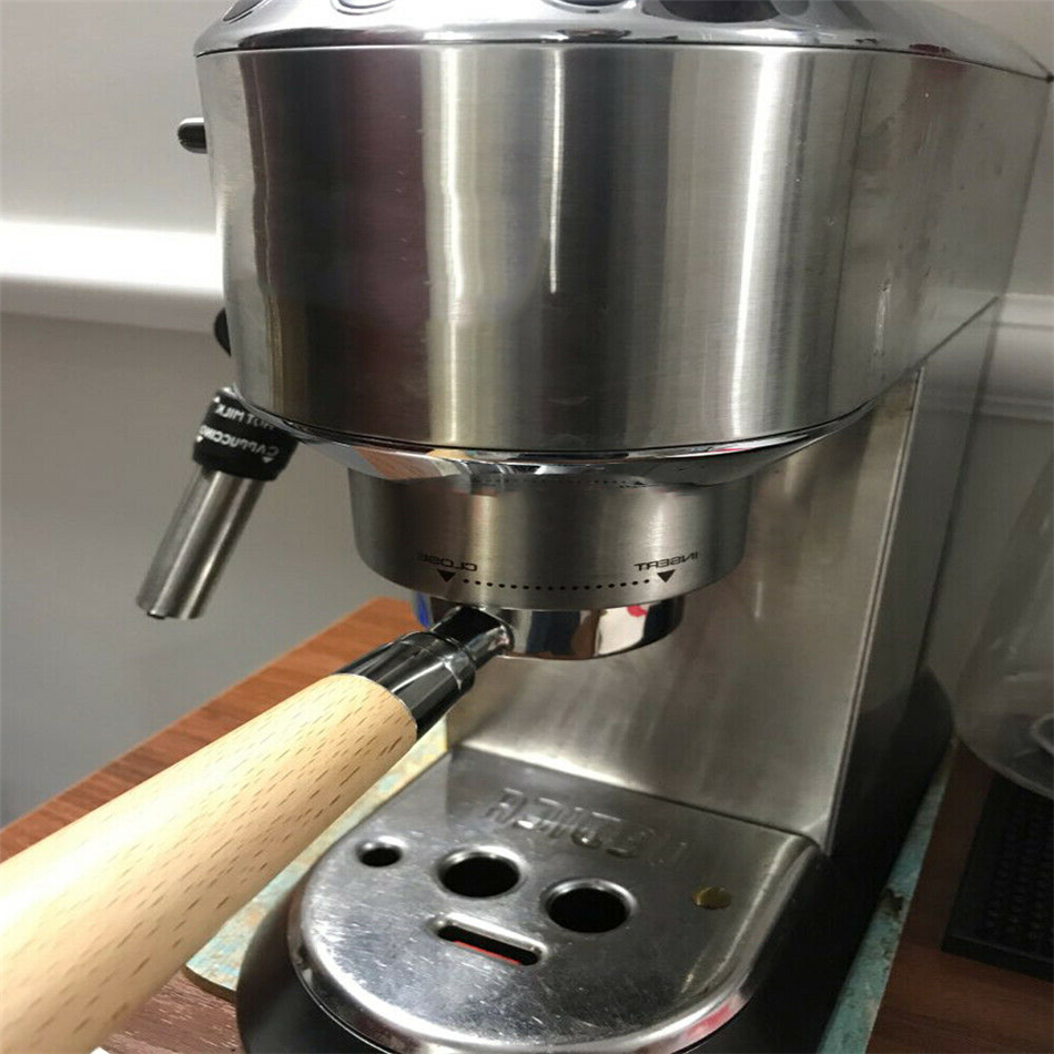 EC685 Filter 51MM Ersatzfi L8E4 SiebträGer Ohne Kaffeeboden für Delonghi EC680
