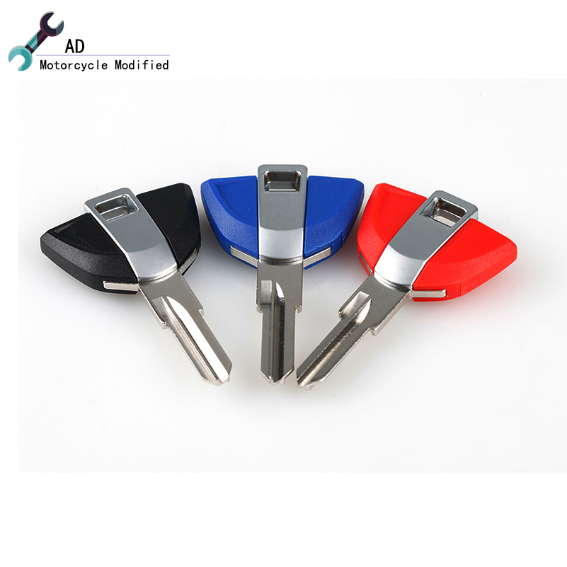 Motorcycle Uncut Blank Keys for BMW F650GS F700GS F750GS F850GS F800GS G310GS G310R Accessories Scooter Parts(China)