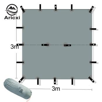 ARICXI 15D silicone coated nylon ultra light tarp Outdoor awning tarp  light weight portable  camping shelter sunshade tent tarp