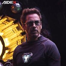 Iron man Tony Stark sunglasses myopia Robert downey jr Avengers  steampunk anti-blue light photochromic Spider Man Edith Glasses