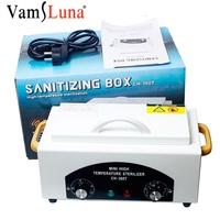 Nail Salon Sterilizer ch 360t Hot Air Disinfection Cabinet For Hairdressing, Tattoo, Manicure Tool in Beauty Spa Manicure Sets