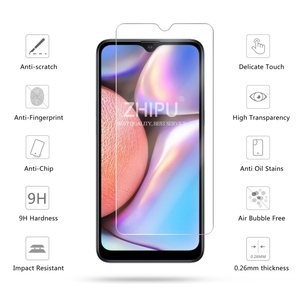 Image 2 - 2 Pcs Tempered Glass For Samsung Galaxy A10S Glass Screen Protector 2.5D 9H Tempered Glass For Samsung A10S Protective Film