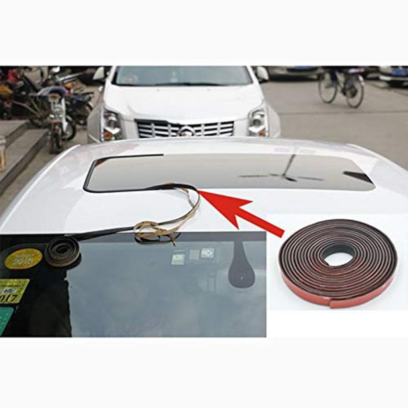 uxcell 890 x 450mm Black Car Sunroof Simulation Vinyl Film Roof Sticker Waterproof