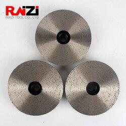 Raizi 4 بوصة/100 مللي متر مستمر كأس عجلات ل الجرانيت الرخام ، حجر طحن أدوات مع C/M/F حصى