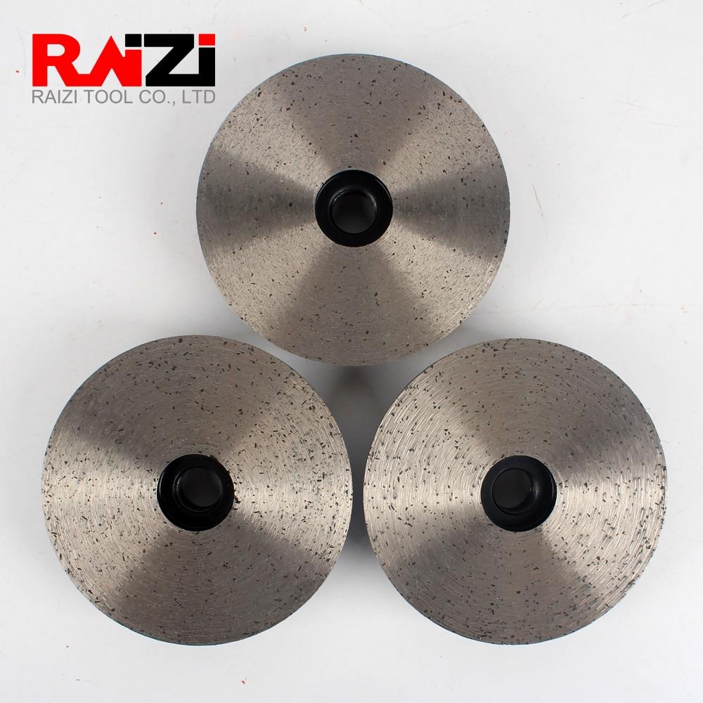 "4/"" Diamond Turbo Cup Wheel Grinding Wheel Cup Aluminum Based Grit 30 Concrete"